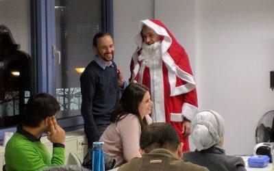 Der Nikolaus war da